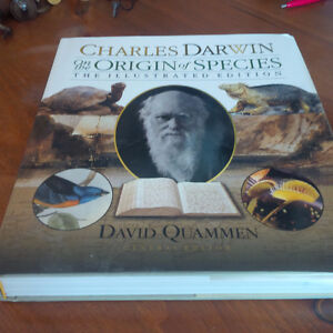 Charles Darwin On Origin of Species, Illustrated Edition, 2008