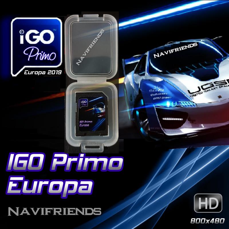 iGO PRIMO Navigation Software für Tristan Auron BT2D7013 A / B / C Premium Paket