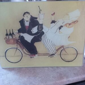 New - Tempered Glass Cutting Boards, two designs London Ontario image 3