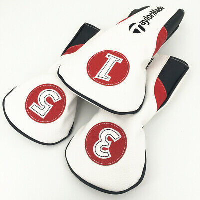1x/3x Golf Cover Headcover for Taylormade m1 m2 m3 m4 m5 m6 r15 sldr driver -