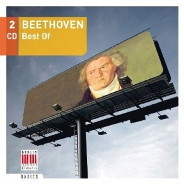 BEETHOVEN-BEST OF 2 CD NEU