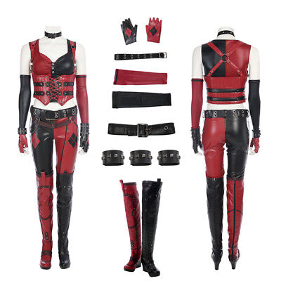 Batman Arkham City Harley Quinn Costume Custom Made (Arkham City Harley Kostüm)