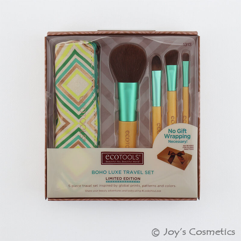 ECOTOOLS 1313 Makeup Brush Boho Luxe Travel Set