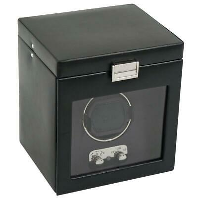 WOLF 270302 Heritage Single Watch Winder with Cover and Stor