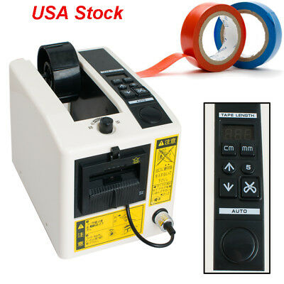 2pcs Automatic Tape Dispensers Electronic Tape Cutter Cutting Length 20-999 Mm