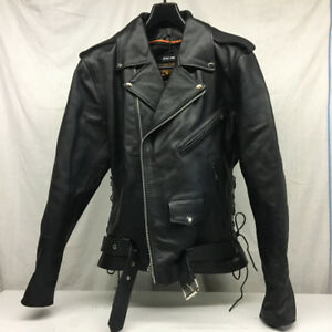Manteau Cuir Moto / Bike Leather Jacket