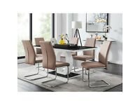 Eubanks Dining Set with 6 Chairs
