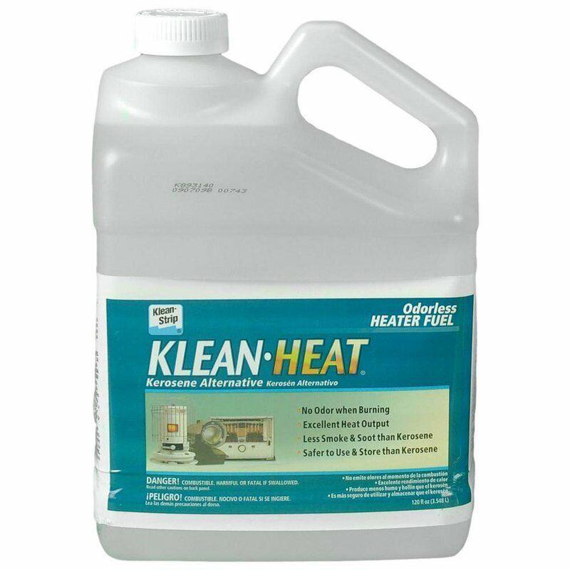 KleanHeat Kerosene Alternative No Smoke or Odor Lamp and Heater Fuel 120 Oz Jug
