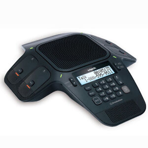 VTECH VCS704 ErisStation Conference Phone with Four Wireless Mic