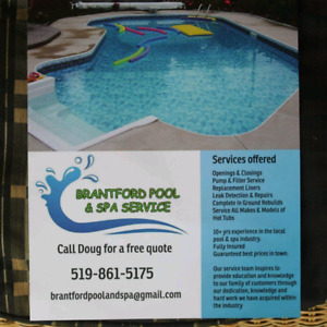 Pool Closings/ Safety Covers