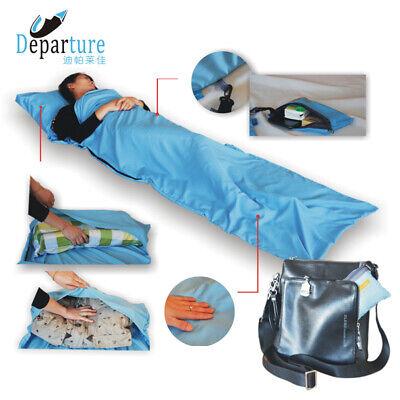 - Ultralight Outdoor Sleeping Bag Camping Hiking Liner Folding Travel Mat 210*70CM