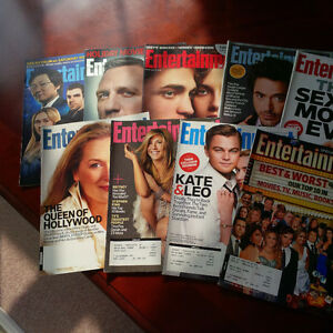 Entertainment Weekly Magazines 2008-2009