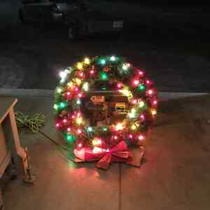 Large out door Christmas wreath