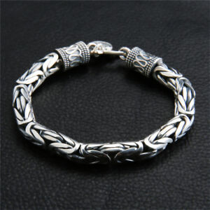 Real Pure 925 Sterling Silver Bracelet