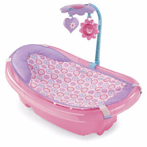 Summer Infant Sparkle Fun Tub - Pink, New