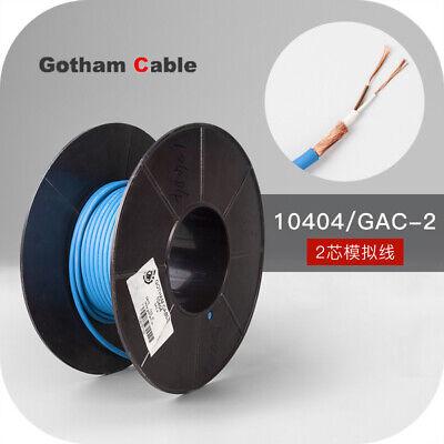 1meter 10404 2rca 2-core Gotham Gac-2 Audio Signal Cable