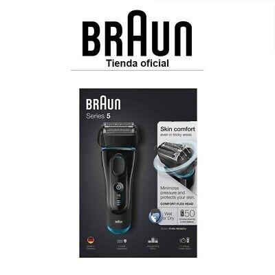 Afeitadora Eléctrica Braun Series 5 5140s Wet&Dry - Recortadora de precisión