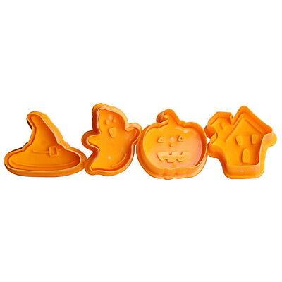 eko Hexe Geist Kürbis DIY Kuchen Gebäck Maker Fondant g/s (Halloween Torten Kuchen)