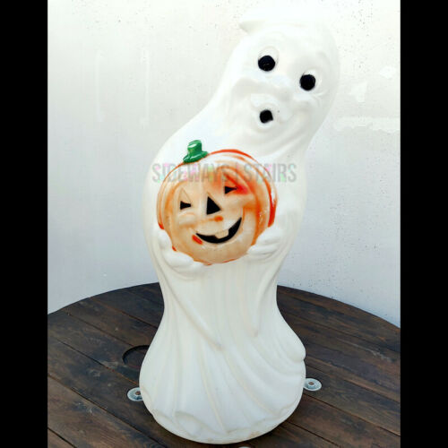 VINTAGE GHOST BLOW MOLD Halloween yard decoration general foam plastics pumpkin