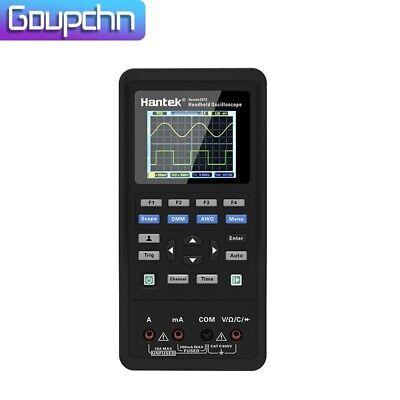 3in1 Hantek Handheld Oscilloscope Digital Multimeter Tester Waveform Generator