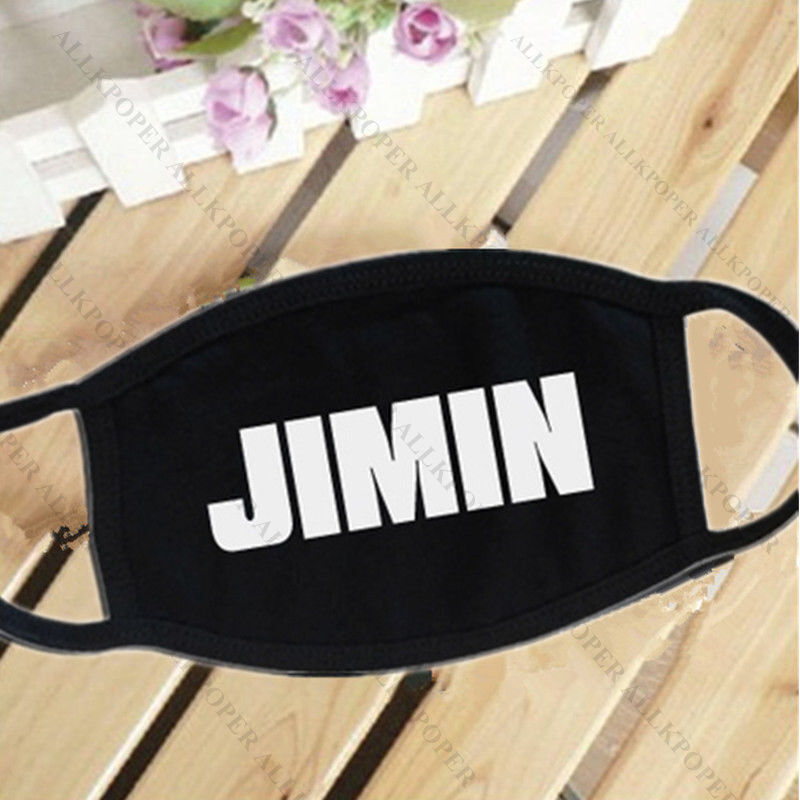 BTS Wings Mouth Mask Kpop Merchandise Face Muffle Jung Kook J-Hope Bangtan Boys