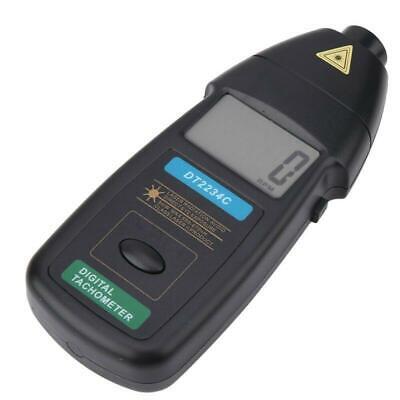 Dt2234c Handheld Digital Laser Tachometer Rpm Non-contact Speed Meter Usa