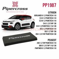 170 Pipercross Panel Air Filter for Seat Leon Mk2 1P 2.0TDI FR PP1621 06/>
