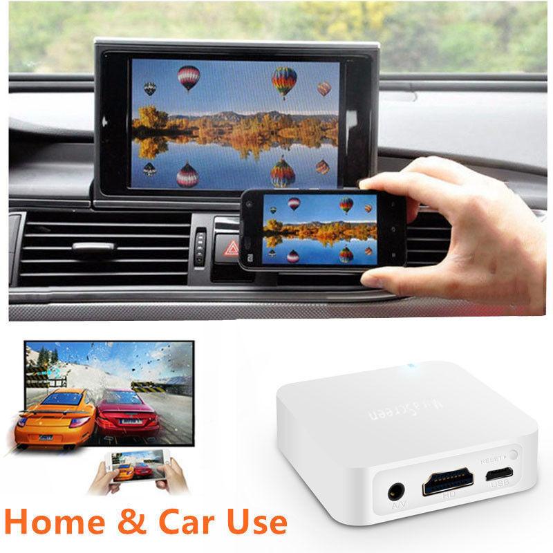 Car Home TV MiraScreen Navigation Display Video Adapter 1080