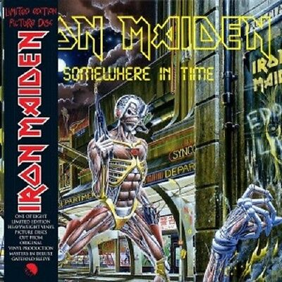 IRON MAIDEN - SOMEWHERE IN TIME  VINYL LP LIMITED EDITION PICTURE DISC  NEU