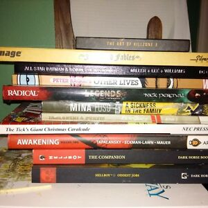 Eleven brand new graphic novels