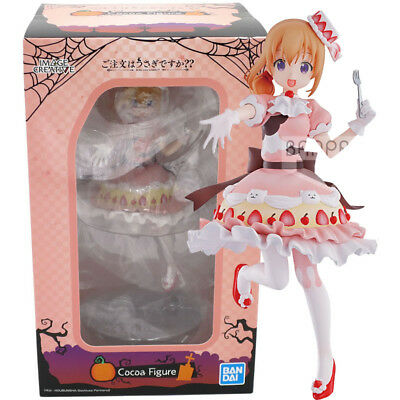 Bandai Is the order a rabbit? We have started Halloween desserts A. Cocoa Figure](Chocolate Halloween Desserts)