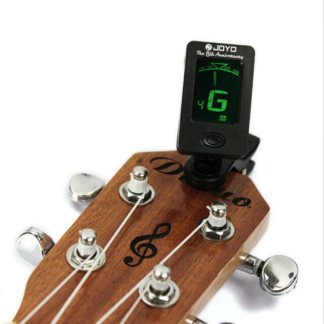 Mini Clip On Tuner & Metronome for Chromatic Guitar Bass Violin and Ukulele FT