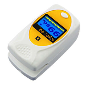 Fingertip Pulse Oximeter SPO2/Heart Rate FDA/Health Canada/CE