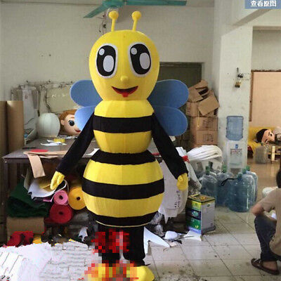 Maya The Bee Mascot Costume Adversting Male Cartoon Animal Cosplay Outfit Unisex - Male Bee Costume