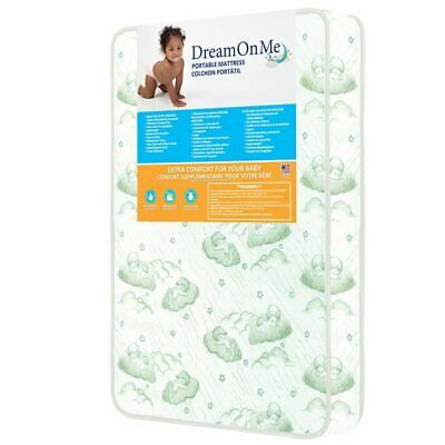 "Dream On Me 3"" Square Corner Playard Mattress"