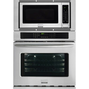 """Frigidaire 30"""" Wall Oven / Microwave Combo - Stainless Steel"""