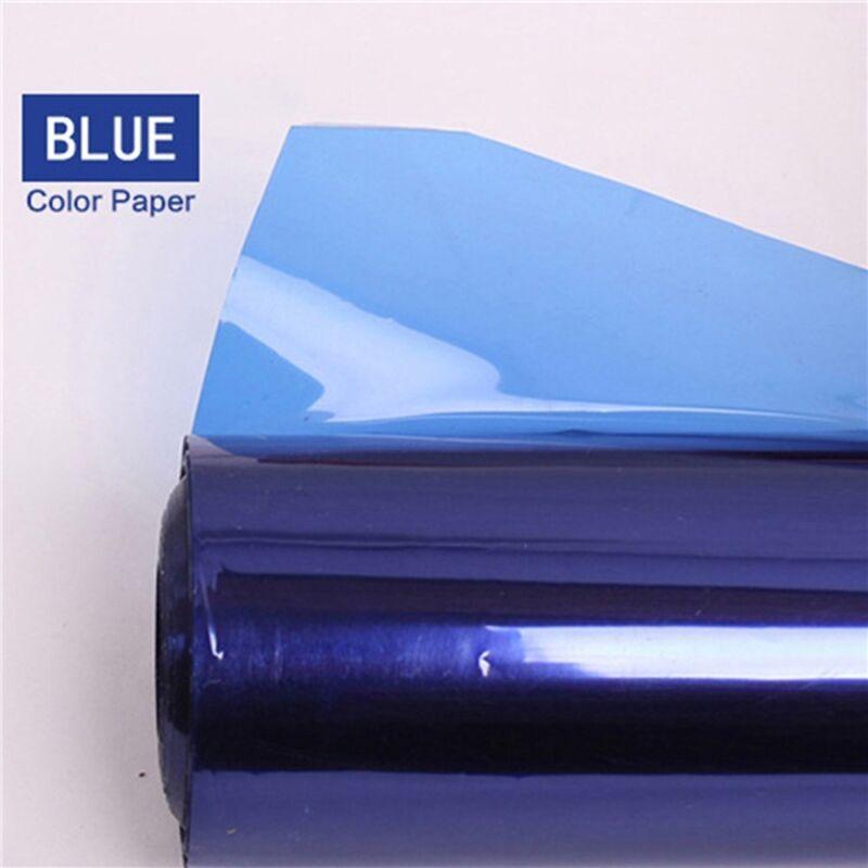 Pro+40%2A50cm+Gels+Color+Balance+Filter+Paper+for+Studio+Red+Head+Light+%2F+Blue