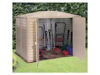Wanted: Large plastic storage shed