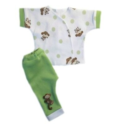 Baby Boys Playful Monkey Pants Shirt Clothing Outfit 4 Preemie and Newborn Sizes