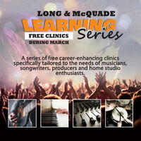 Check Out the Long & McQuade Learning Series in Orleans!