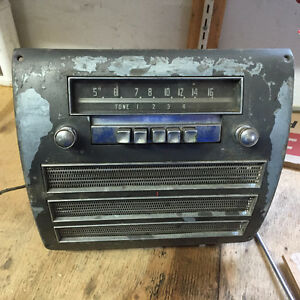 radio original de doge 1951 et 1 de chrysler 1950