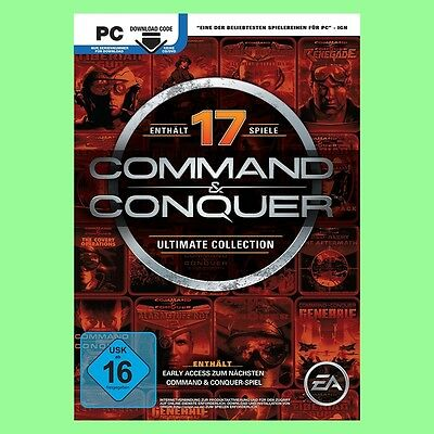 Command & Conquer The Ultimate Collection PC CD Key EA Origin Download Code