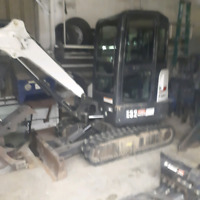 Bobcat and excavator for hire