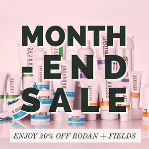 Rodan and Fields - All Products 20% OFF