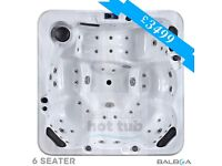 6 Seater Hot Tub Sale £3499