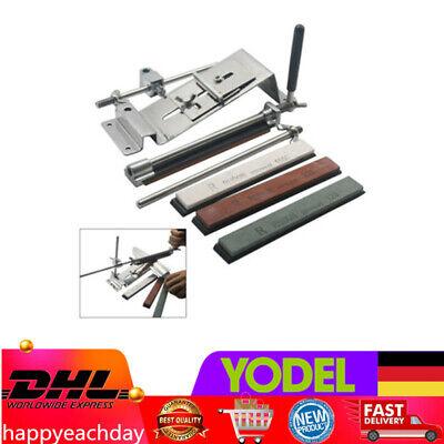 Winkel-4 (Messer Anspitzer Küche Schärf System Rostfreier Stahl Fix Winkel +4xKnife Stones)