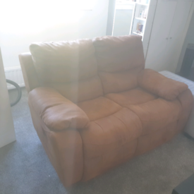 Free double recliner sofa