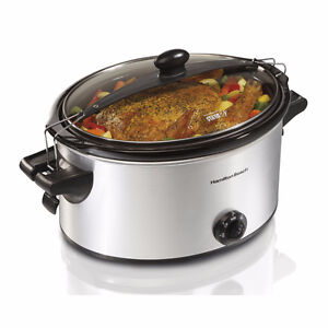 Hamilton Beach 6qt Stay or Go Slow Cooker