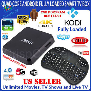 ANDROID TV BOX / BOITE ANDROID MXQ M8S MX3 MXII