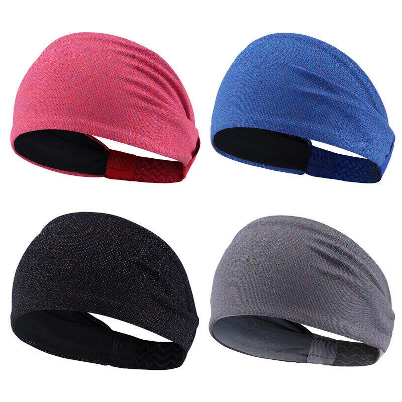 Yoga Sports Wide Headband Sweatband Hair Band Head Wrap Turban For Women Men Clothing, Shoes & Accessories